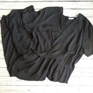 NEW YORK AND COMPANY Wide Leg Cropped Jumpsuit XL